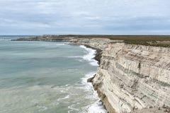 风景在瓦尔德斯半岛 免版税库存图片