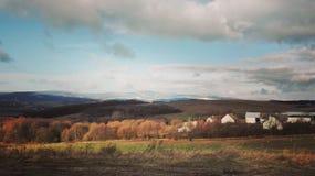 风景在秋天 库存图片