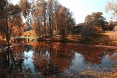 风景在荷兰公园 免版税库存图片