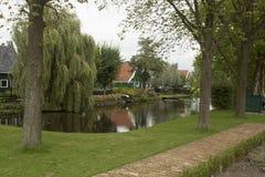 风景在荷兰,荷兰风景 免版税库存图片