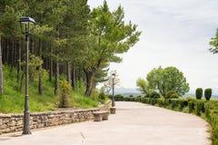 风景在西班牙 免版税库存图片