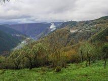风景在诺盖拉de Ramuin 库存照片