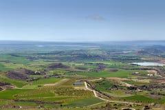 风景在阿拉贡,西班牙 免版税库存图片