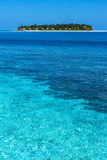 风景在马尔代夫 库存图片