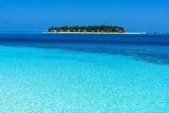 风景在马尔代夫 免版税库存图片