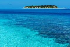 风景在马尔代夫 库存照片