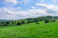 风景在Bridgnorth 免版税库存图片