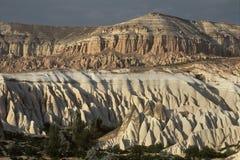 风景在Cappadocia,土耳其 免版税库存照片