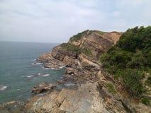 风景在Coto海岛 库存照片