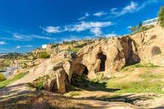 风景在Fes,摩洛哥 免版税库存照片