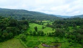 风景在Konkan 库存照片