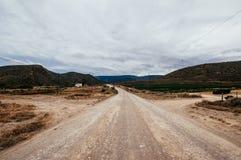 风景在Montagu,南非附近 库存图片