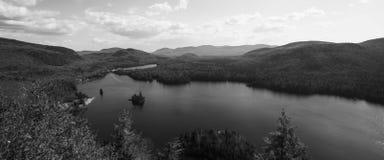 风景在Québec 免版税库存图片