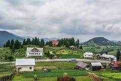 风景在Romaniaa 免版税库存图片