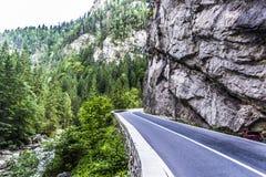 风景在Romaniaa 免版税库存照片