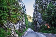 风景在Romaniaa 免版税图库摄影