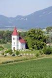 风景在Turiec,斯洛伐克 免版税库存图片
