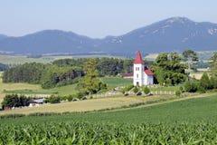 风景在Turiec,斯洛伐克 免版税图库摄影