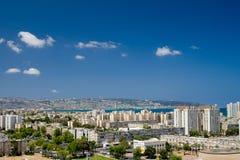风景城市的概览 免版税图库摄影