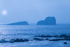 风景大瑟尔海岸 图库摄影