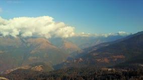 风景天线在东部不丹 影视素材