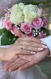 风景婚礼 免版税库存照片