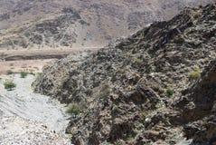 风景富查伊拉 阿拉伯联合酋长国 免版税库存照片