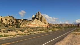风景小路12在犹他,美国 库存照片
