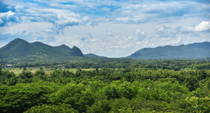 风景山泰国 库存照片