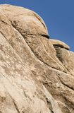 风景岩石在约书亚树国家公园 图库摄影