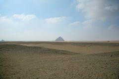风景弯曲的金字塔代赫舒尔 图库摄影