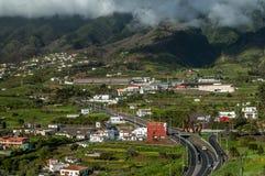 风景拉帕尔玛岛,加那利群岛 库存照片