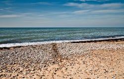风景有波罗的海的看法 库存图片