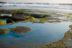 风景有海的看法 库存照片