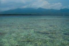 风景有海视图 免版税库存图片