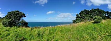 风景有海滨视图 图库摄影