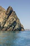 风景横向Catalina港口 免版税图库摄影