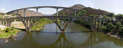 风景比索da Regua葡萄牙 免版税库存照片