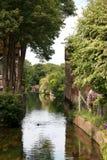 风景河在乡下 免版税库存照片