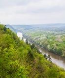 风景河 库存图片