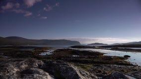 风景海岸苏格兰4K 股票视频