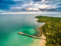 风景海滩泰国 免版税库存图片