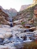 风景瀑布在亚利桑那 免版税库存图片