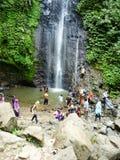 风景瀑布在Kudus 图库摄影