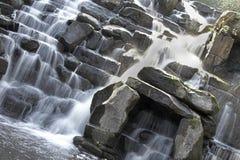 风景瀑布 库存图片