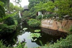 风景点在杭州,中国 库存照片