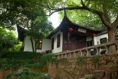 风景点在杭州,中国 免版税库存图片