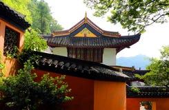 风景点langshan在南通,江苏,中国 免版税图库摄影
