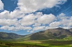风景爱尔兰横向的本质 库存图片