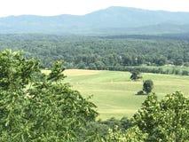从风景的一个看法在弗吉尼亚俯视 免版税库存图片